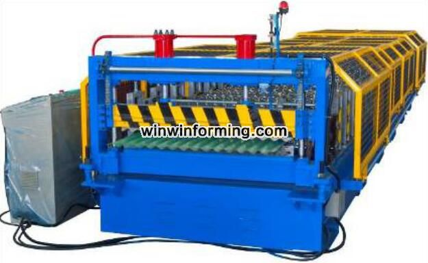 Corrugated Roofing Machines